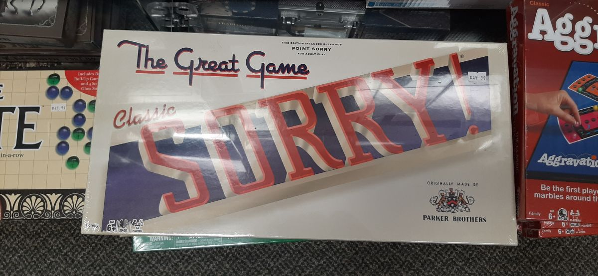 Classic sorry board game