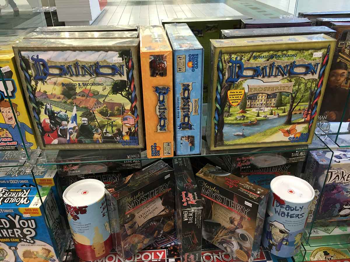 Dominion & other board games
