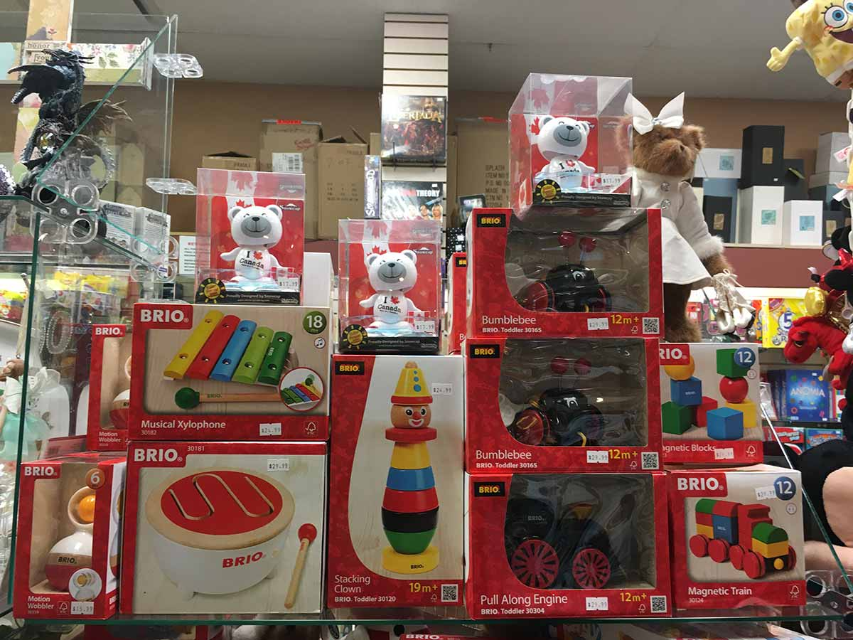 Toy games from BRIO