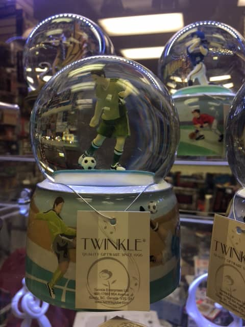 Musical Water Globes