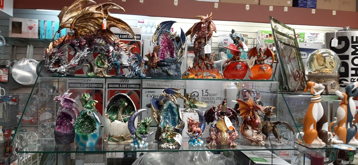 wide range of dragons