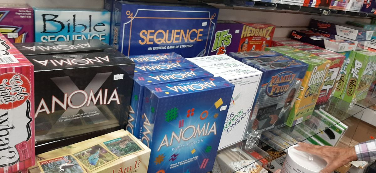 wide variety of board games